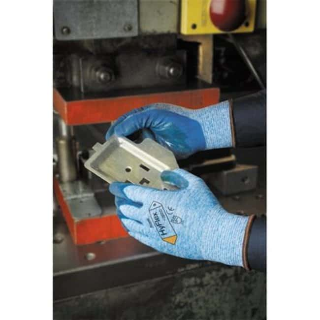 Ansell™ HyFlex™ 11-920 Series Blue Nitrile Medium Weight Gloves Size: 10 products