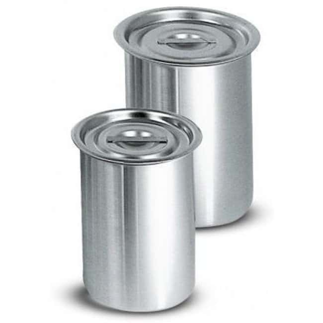 Cole-Parmer™ Stainless Steel Beaker Capacity: 3100mL Cole-Parmer™ Stainless Steel Beaker