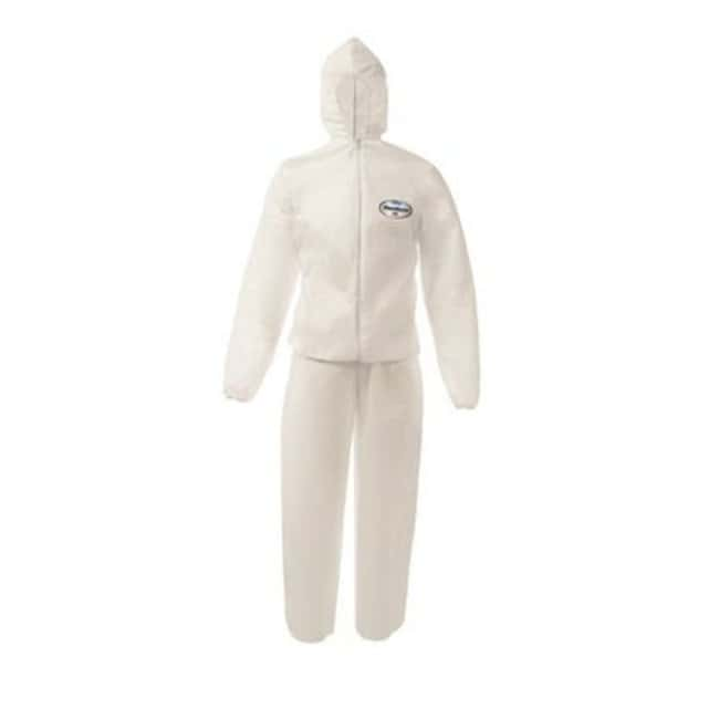 Kimberly-Clark™ ProfessionalKleenguard* A50 Breathable Splash & Particle Protection Coveralls Size: 3X-Large Kimberly-Clark™ ProfessionalKleenguard* A50 Breathable Splash & Particle Protection Coveralls