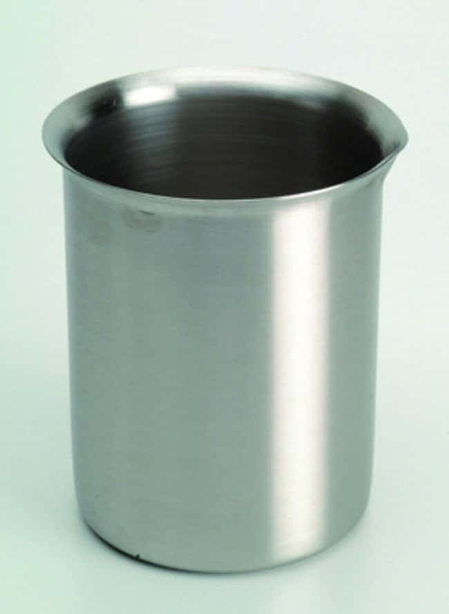 Cole-Parmer™ Stainless Steel Griffin-Style Beaker Capacity: 600mL Cole-Parmer™ Stainless Steel Griffin-Style Beaker