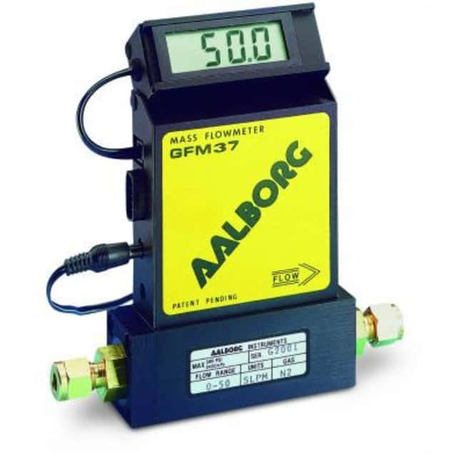 Aalborg™GFM Mass Flowmeter Flow rate: 0 to 50L/min.; Transports nitrogen Aalborg™GFM Mass Flowmeter