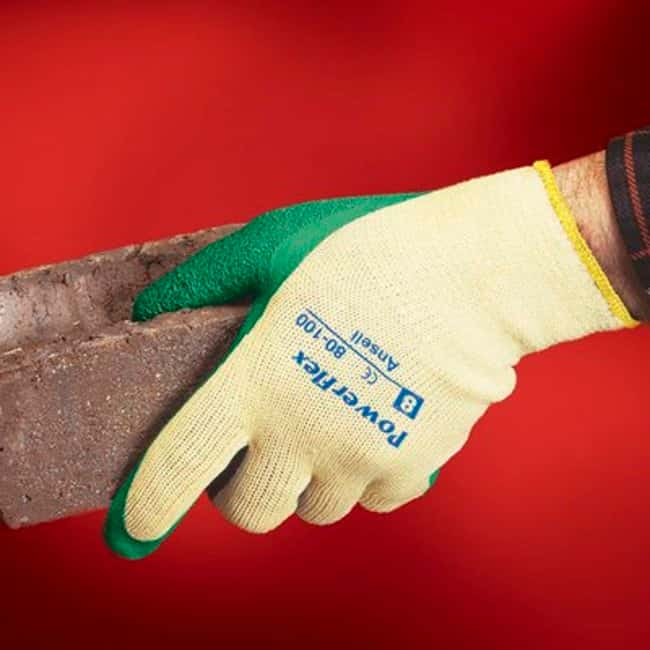 Ansell Powerflex 80-100 Series Heavy Duty Gloves:Gloves, Glasses and Safety:Gloves