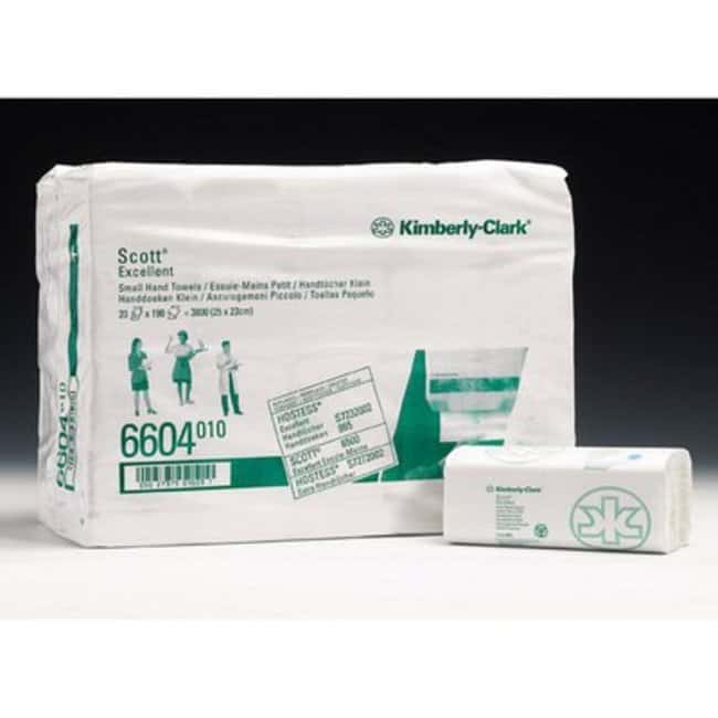 Kimberly-Clark™SCOTT™ EXCELLENT Hand Towels Thickness: 2-ply; White Patient Care Towels