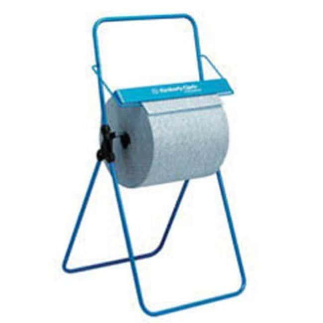 Kimberly-Clark™ ProfessionalFloor Stand Wiper Dispenser Color: Blue Wiper Dispensers