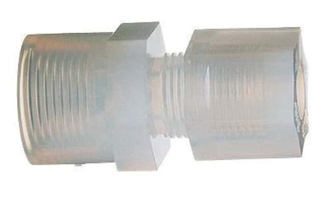 Cole parmer™ autoclavable pfa threaded adapter compression