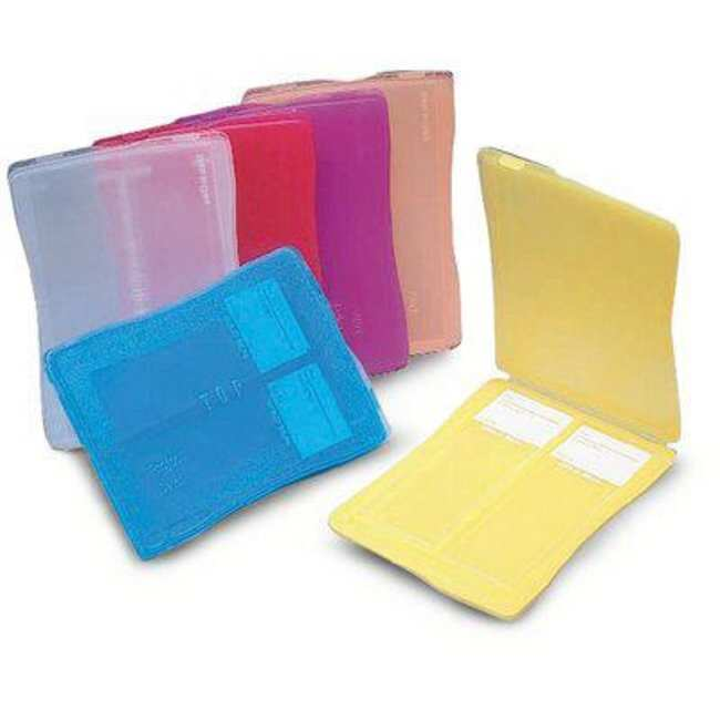 Fisherbrand™ Polypropylene 2-place Slide Mailer Color: Assorted; Size: 75 x 25mm Mailing and Shipping Containers