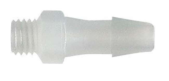 Masterflex™UNF Male Threaded Adapters, PVDF For 1/4 to 28 UNF(M) thread x 3/32 in. tubing I.D. Masterflex™UNF Male Threaded Adapters, PVDF