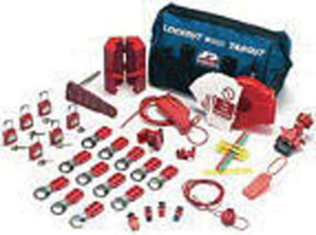 Brady™ Valve and Electrical Lockout Kit Includes Large Fixing Device, Large Locking Arm, Cable Tie Brady™ Valve and Electrical Lockout Kit