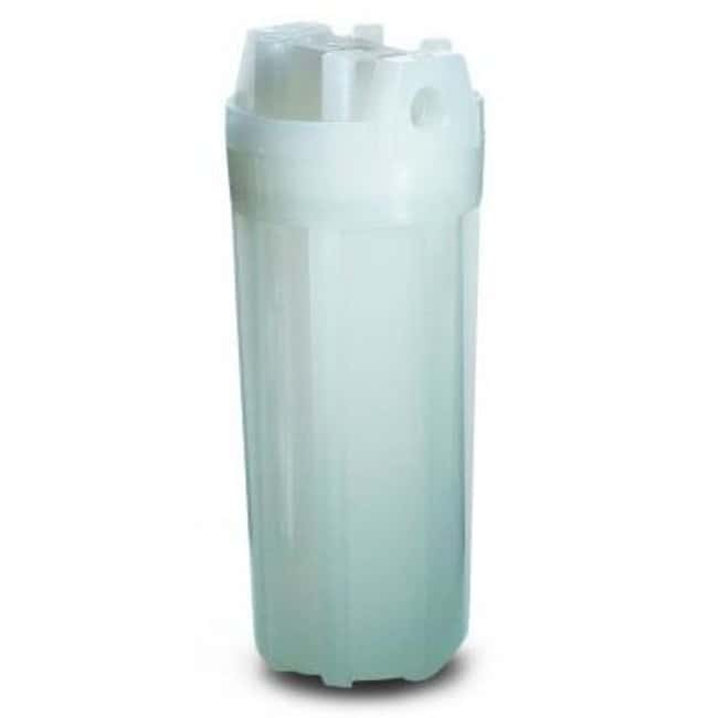 Cole-Parmer™Double Open End Polypropylene Filter Housing And Sump Flow rate: 1 to 10GPM Water Purification Filter and Cartridge Accessories