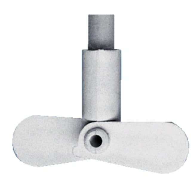 Cole-Parmer™ Polypropylene Dual-Blade Paddle Assemblies Length: 350.83mm; Diameter: 100mm Products