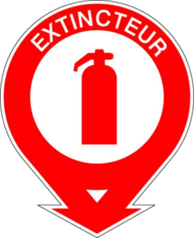 Brady™Adhesive Polyethylene Fire Extinguisher Pictograms Dimensions (L x H): 200 x 250mm Brady™Adhesive Polyethylene Fire Extinguisher Pictograms