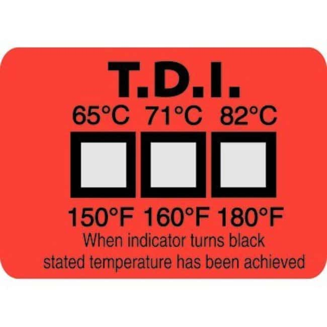 Temperature measurement strips