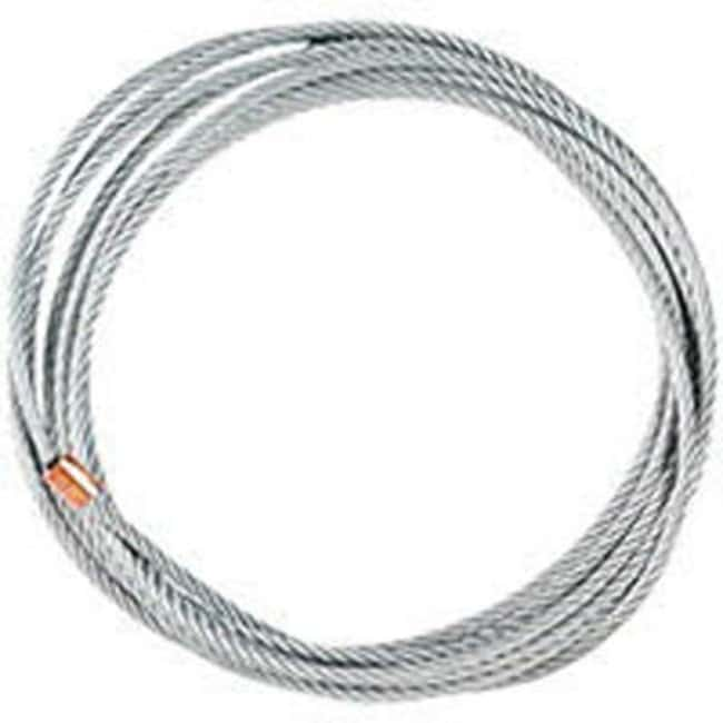 Brady™ Galvanized Steel Lockout Cable Dimensions: 3.2 dia. x 3000mmL Brady™ Galvanized Steel Lockout Cable