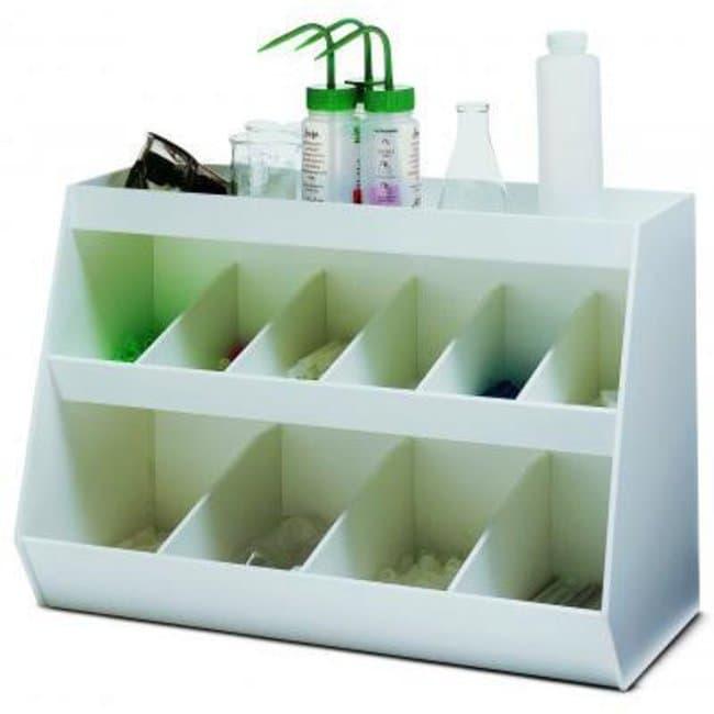 Cole-Parmer™PVC Organizer White; Dimensions (D x W x H): 273.05 x 609.6 x 406.4mm Cole-Parmer™PVC Organizer