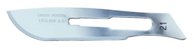 Swann-Morton™Skalpellklinge aus Carbonstahl Fits Model: No. 21; Length: 35mm Swann-Morton™Skalpellklinge aus Carbonstahl