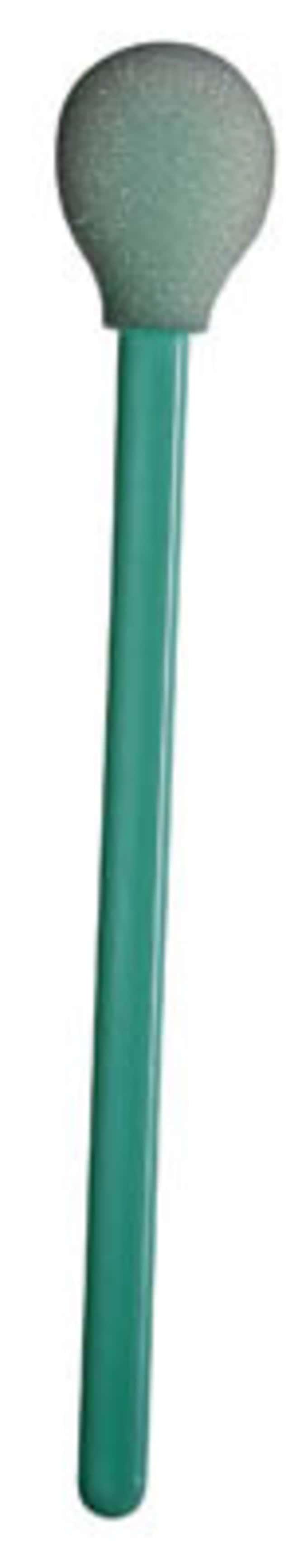 TexwipeCleanTip Swabs: Foam Series Circular head, rigid paddle; Tip Diameter: