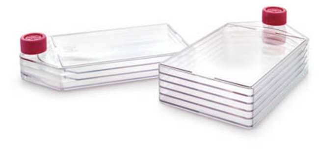 Merck MilliporeZellkulturflasche Cell Culture Flask; Sterile Mehrkammer-Zellkulturflaschen mit flachen Seiten