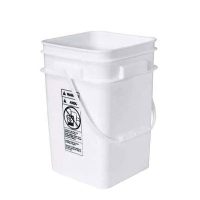 Cole-Parmer™HDPE Stackable Pail Capacity: 16.1L Janitorial Buckets and Wringers
