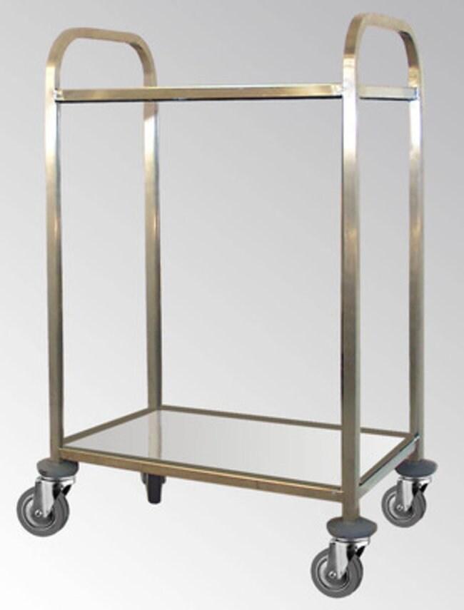 Agencinox™Chariots en acier inoxydable Dimensions (Lxl): 600x400mm Agencinox™Chariots en acier inoxydable