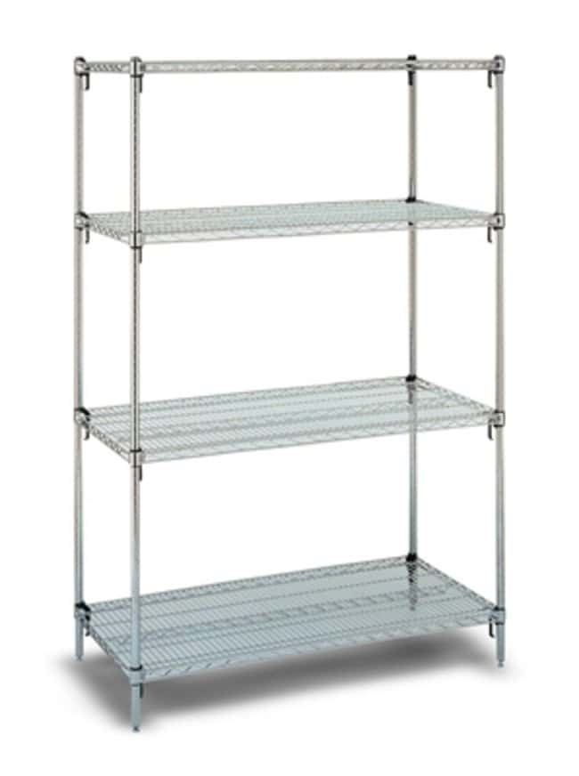 Metro™ Chrome Steel Shelves Dimensions (L x W x H): 1220 x 610 x 1895mm Metro™ Chrome Steel Shelves