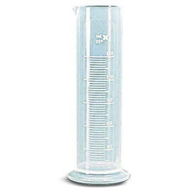 VITLAB™Messzylinder aus Polypropylen mit niedriger Form, KlasseB Capacity: 250mL; Graduation: 5mL Produkte