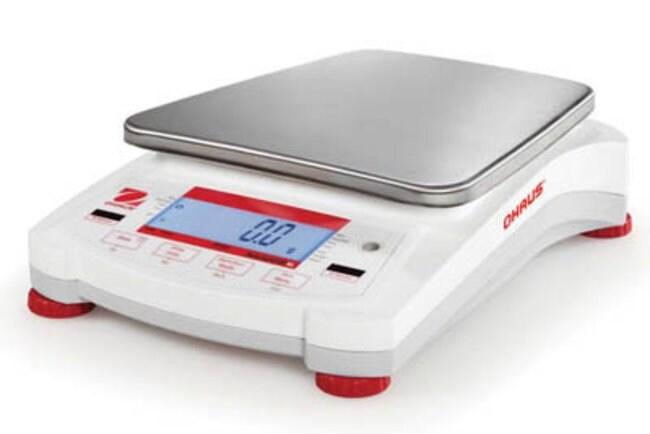 Ohaus™Balanza portátil Navigator Model: NVL2101; Capacity: 2100g Saldos electrónicos de carga superior