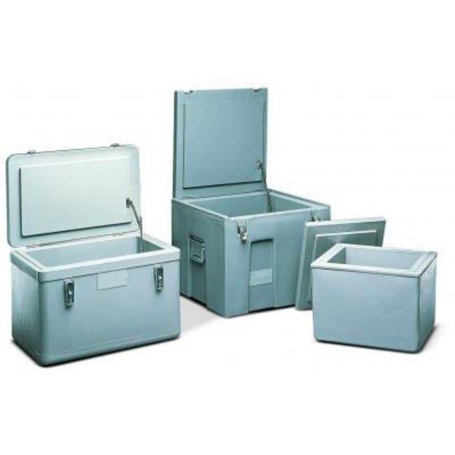 Cole-Parmer™Honigberg™ Polyethylene Ice Container Material: Polyethylene Insulated Containers
