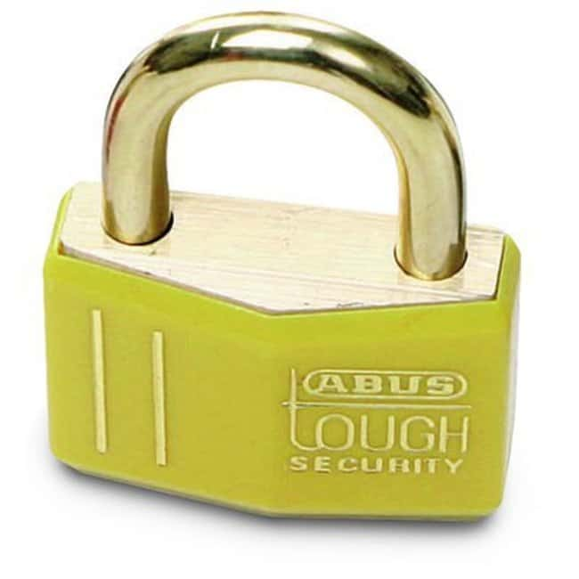Brady™ Brass Padlocks Yellow Brady™ Brass Padlocks