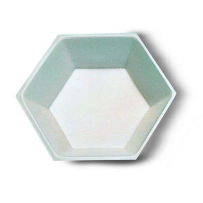 Cole-Parmer™ Hexagonal Polystyrene Weighing Dishes Capacity: 200mL Cole-Parmer™ Hexagonal Polystyrene Weighing Dishes