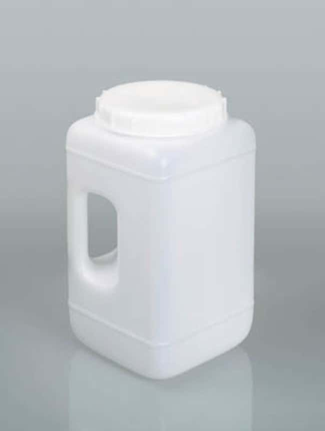Buerkle™Wide Mouth Containers with Handle Capacity: 2300 mL; Dimensions: 135L x 135W x 192 mmH; I.D.: 68.5 mm Products