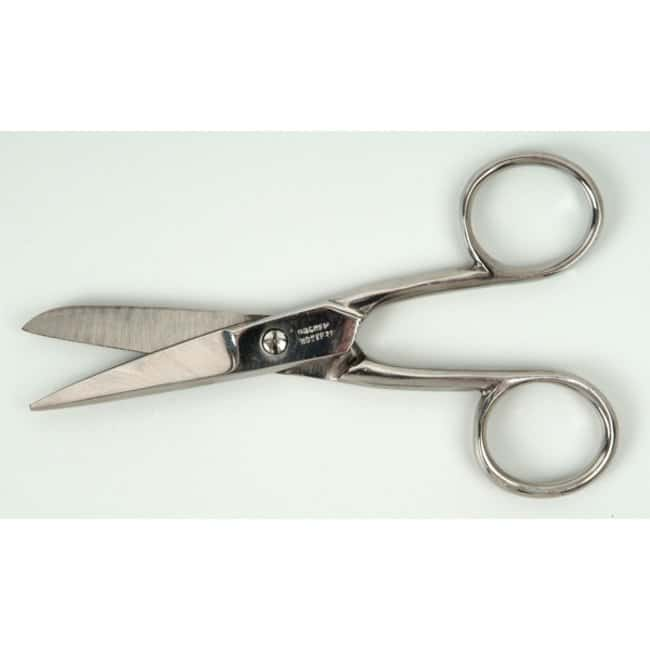 Bochem™ Stainless Steel Laboratory Scissors Length/Tip Style: 115mm/Sharp/Round Bochem™ Stainless Steel Laboratory Scissors