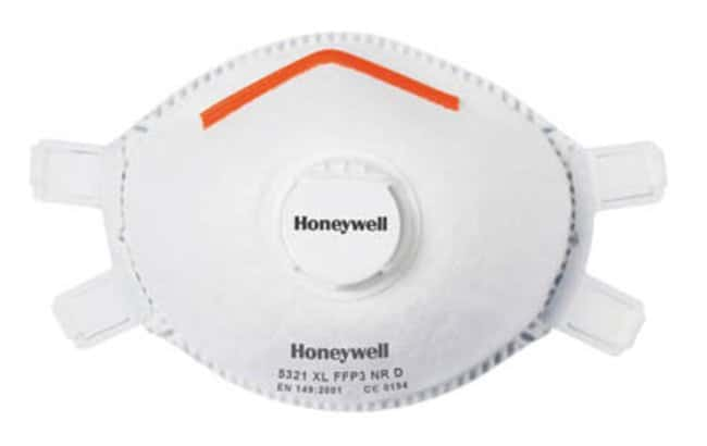 Sperian™ Honeywell™ FFP3 ML Respirator with Valve Filter Type: FPP3 Air Purifying Respirators Half Face