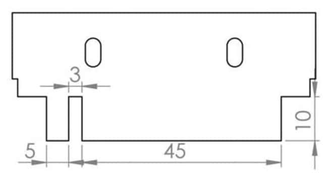 Fisherbrand™Fisherbrand™ Kämme für die horizontalen Gel-Elektrophoreseeinheiten SUB-GEL Mini, 0.75mm dick  Produkte