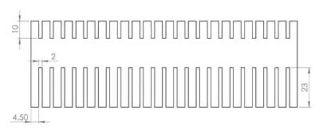 Fisherbrand™Combs for Verti-Gel Maxi, 2-Gel Standard Vertical Gel Electrophoresis, 1.5mm Thick  Fisherbrand™Combs for Verti-Gel Maxi, 2-Gel Standard Vertical Gel Electrophoresis, 1.5mm Thick