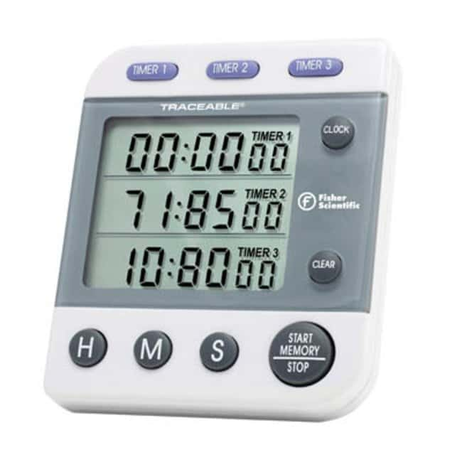 Fisherbrand™ 3-Channel Countdown Timer  Motion Timers