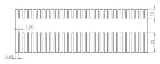 Fisherbrand™Combs for Verti-Gel Maxi, 2-Gel Standard Vertical Gel Electrophoresis, 1mm Thick  Fisherbrand™Combs for Verti-Gel Maxi, 2-Gel Standard Vertical Gel Electrophoresis, 1mm Thick