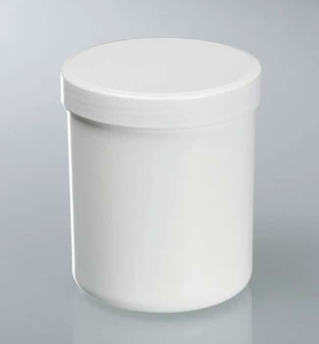 Buerkle™White Polypropylene Tubes with Screw Cap Capacity: 625mL; Dimensions: 90 dia. x 113mmH; 10/Pk. products