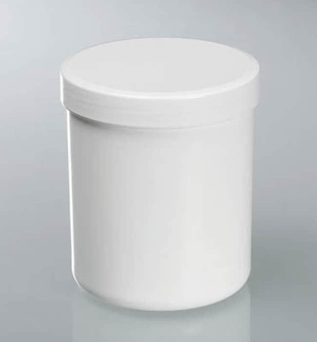 Buerkle™Polypropylenröhrchen mit Schraubverschluss, weiß Capacity: 625mL; Dimensions: 90 dia. x 113mmH; 10/Pk. Buerkle™Polypropylenröhrchen mit Schraubverschluss, weiß