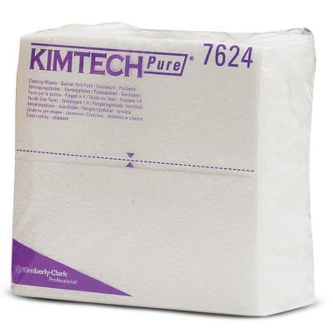 Kimberly-Clark™ ProfessionalKimtech™ Labortücher Thickness: 1-ply; White; Dimensions: 38.5L x 35.1cmW Universaltücher