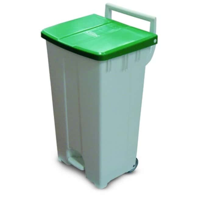 Gilac™Pedal Container with Lid Color: Green Gilac™Pedal Container with Lid