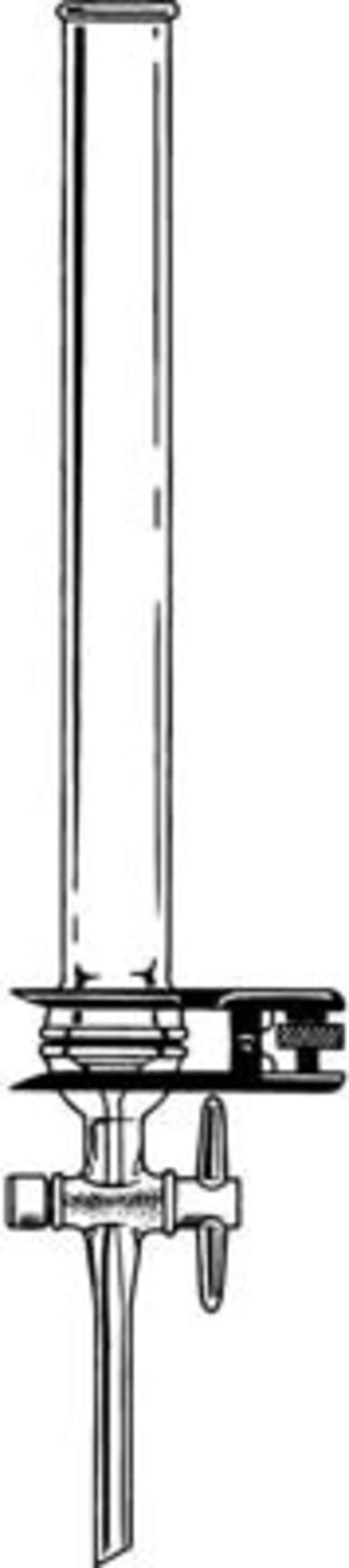 Kimble Chase™Borosilicate Glass Chromatography Column with Removable Fritted Disc Capacidad de columna: 75ml Kimble Chase™Borosilicate Glass Chromatography Column with Removable Fritted Disc