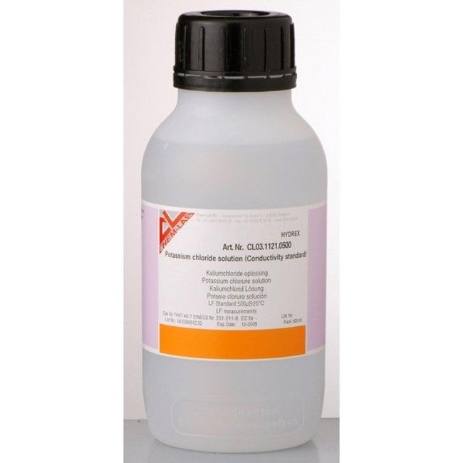 Conductivity Standard, 1413μS/cm, NIST Certified, Chem-Lab Quantity: 1L Conductivity Standard, 1413μS/cm, NIST Certified, Chem-Lab