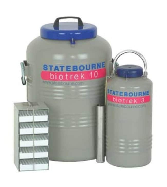 Statebourne Cryogenics™BioTrek™ Series Cryogenic Dry Shippers: Home