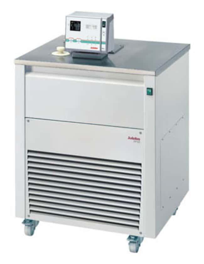 JULABO™Ultra-Low Refrigerated-Heating Circulator with Top Panel, FP-SL Series Capacity: 27L; Range: -60 to 100°C; Cooling: 4.1kW at 0°C, 5.2kW at 20°C, 2.2kW at -20°C, 0.7kW at -40°C, 0.13kW at -60°C; Top Panel JULABO™Ultra-Low Refrigerated-Heating Circulator with Top Panel, FP-SL Series