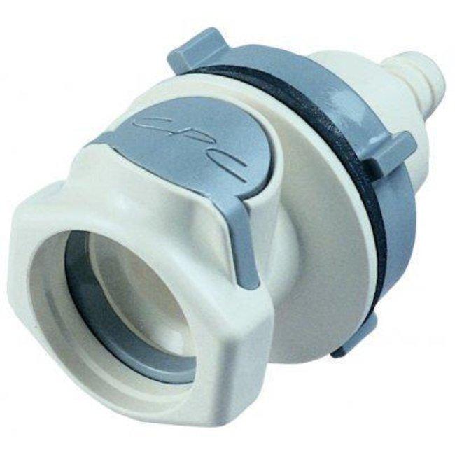CPC Colder Products Company™Connettore di accoppiamento in polipropilene Connection Type: Male Connector; Fits Tubing: 12.7mm I.D. CPC Colder Products Company™Connettore di accoppiamento in polipropilene