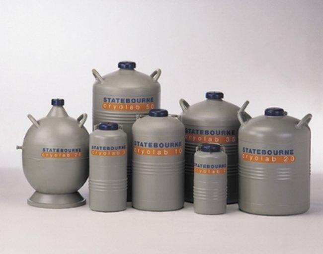 Statebourne Cryogenics™Cryolab™ Series Cryogenic Dewars: Inicio