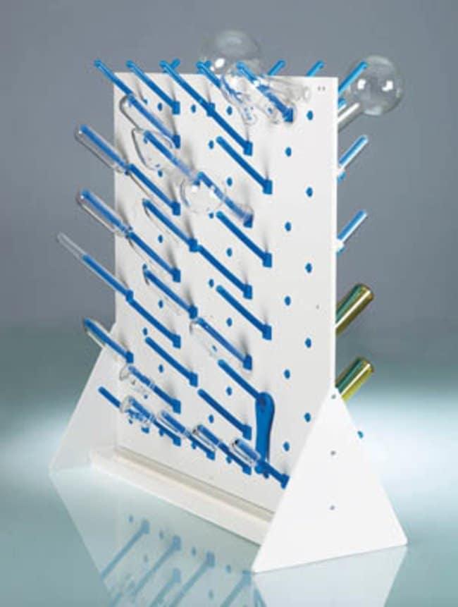 Buerkle™PVC Benchtop Draining Rack with Collecting Pan Size: 500 x 500mm Buerkle™PVC Benchtop Draining Rack with Collecting Pan