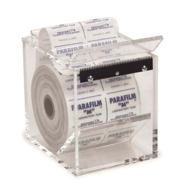 Fisherbrand™ Dispensador de Parafilm acrílico Color: Clear Dispensadores de película para envolver