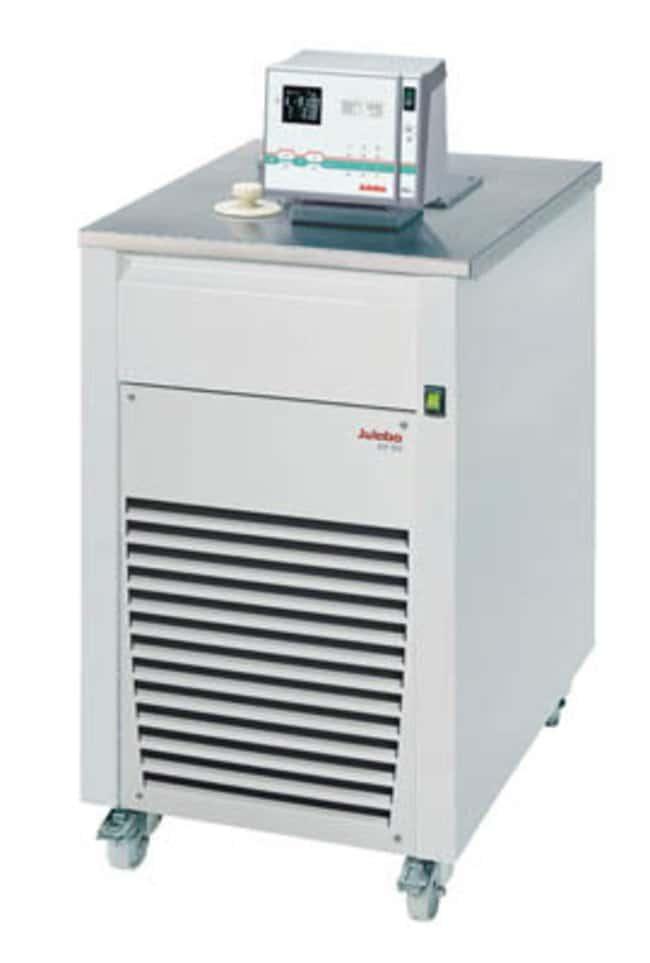 JULABO™Ultra-Low Refrigerated-Heating Circulator with Top Panel, FP-SL Series Capacity: 22L; Range: -90 to 100°C; Cooling: 1.7kW at 0°C, 1.8kW at 20°C, 1.6kW at -20°C, 1.35kW at -40°C, 0.75kW at -60°C, 0.15kW -80°C; Top Panel JULABO™Ultra-Low Refrigerated-Heating Circulator with Top Panel, FP-SL Series