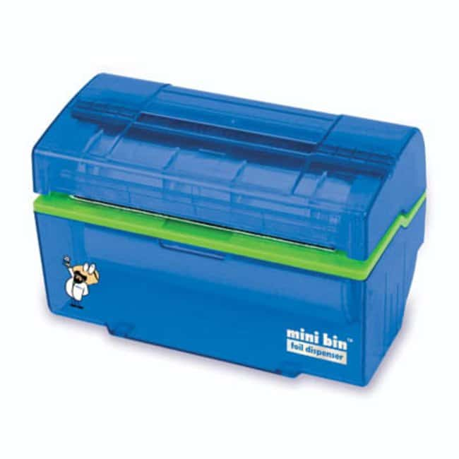 Fisherbrand™ Mini Bin™ Foil Dispenser Color: Blue Wrapping Film Dispensers